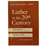 Luther In The 20Th Century