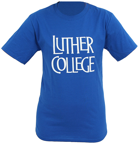 Stacked Luther College Tee