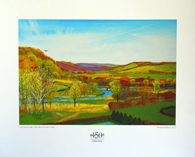 Doug Eckheart Our Oneota Valley Print