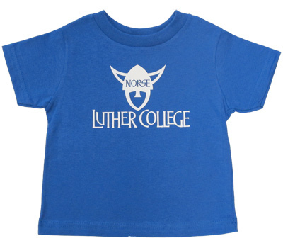 Tee Luther College Norsehead Logo