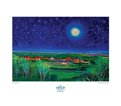 Doug Eckheart Coming Home Print