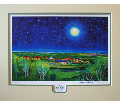 Doug Eckheart Coming Home Matted Print