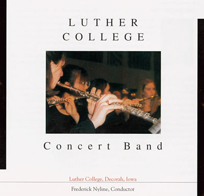 Luther College Concert Band Cd (SKU 1025926961)