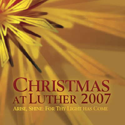Christmas At Luther 2007 Cd