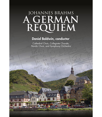Music Brahms A German Requiem Dvd