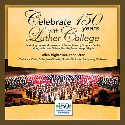 Celebrate 150 Years With Luther Cd (SKU 1026082159)