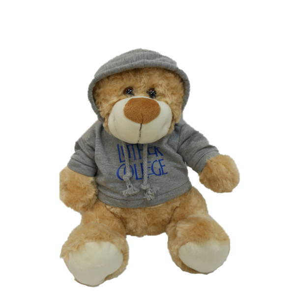 Plush Bear Hood Brown