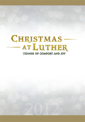 Christmas At Luther 2012 DVD