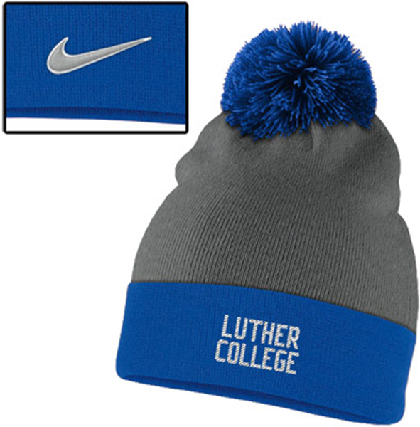 Hat Nike Pom-Pom Knit Royal