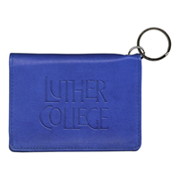 Luther College Leather Id Holder