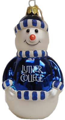 Holiday Luther Snowman Ornament