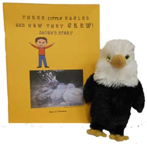 Three Little Eagles Book With Eaglet Plush