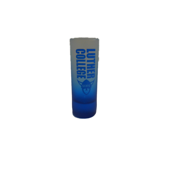 Shot Glass Faded Blue Frost