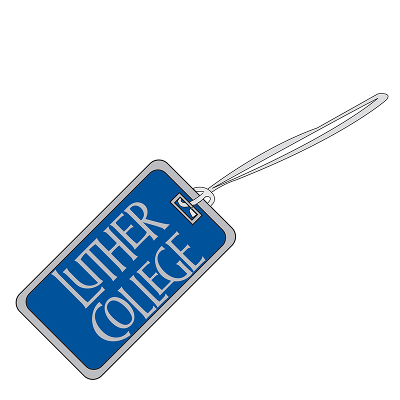 Luggage Tag Luther College (SKU 1033103322)
