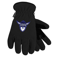 Gloves Black Luther Norsehead Logo