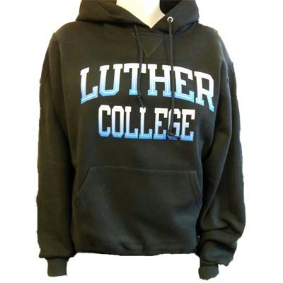 Hood Luther College In Gradient Blue Text