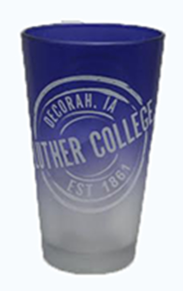 16 Oz Pint Glass Two Tone