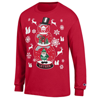 ***Long Sleeve Snowglobe Christmas