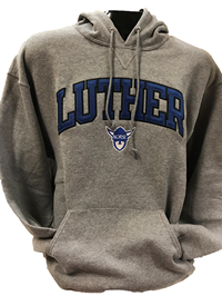 Luther Arched Hood Over Norsehead Embroidery