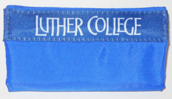 Luggage Grip Luther College Blue