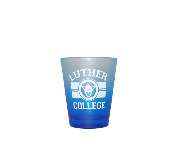 Shot Glass 2 0Z Gradient Blue