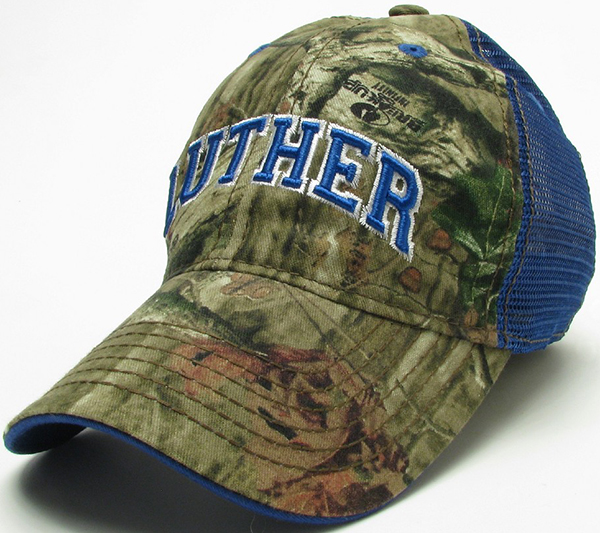 Cap Camo Luther Trucker Mesh Back