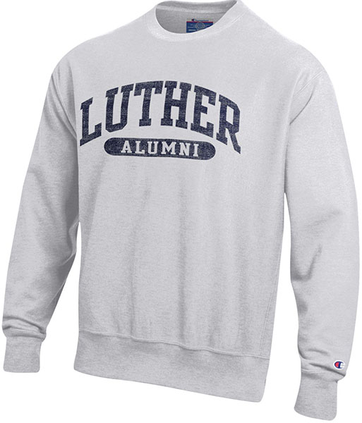 Crew Arched Luther Alumni
