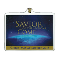 ORNAMENT 2015 CHRISTMAS AT LUTHER