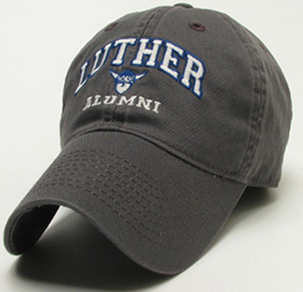 Cap Arched Luther Over Alumni