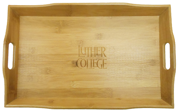 Bamboo Serving Tray Luther College (SKU 1039280563)