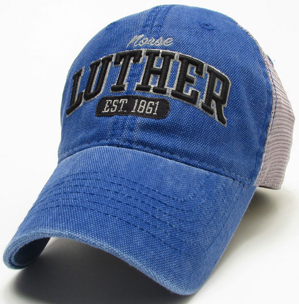 Cap Blue Mesh Trucker