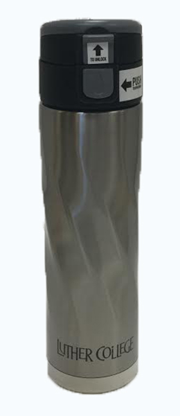 17 Oz Swirly Stainless Steel Tumbler