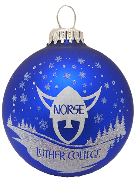 Norsehead Snow Ornament