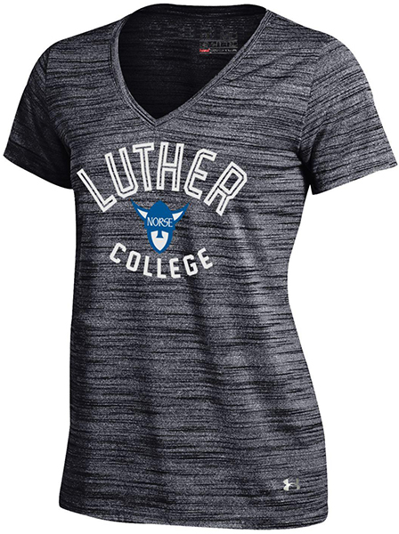 Luther College Norsehead V Neck Tee