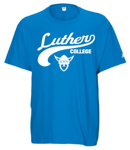 Luther College Norse Head Tee