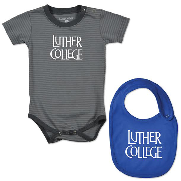 Infant Luther College Onesie And Bib (SKU 1040168248)