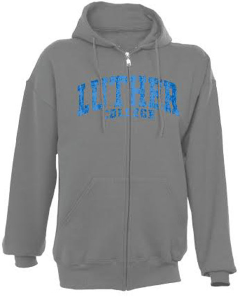 Full Zip Luther College Hood