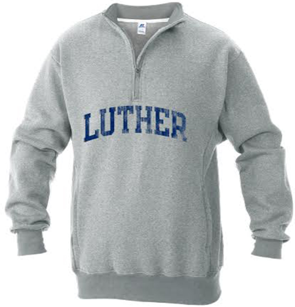 1/4 Zip Arched Luther Crew