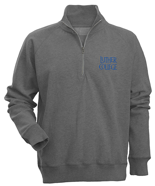 1/4 Zip Luther College Stacked Left Chest