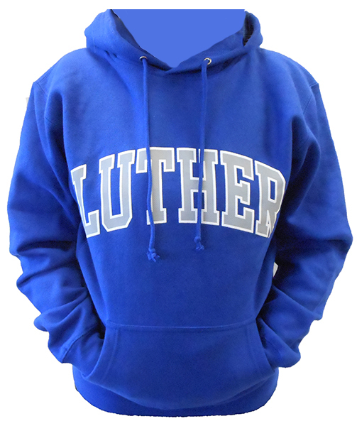 Hood Luther Arched Over Chest