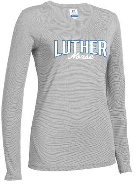 Luther Over Norse Script Long Sleeve Tee