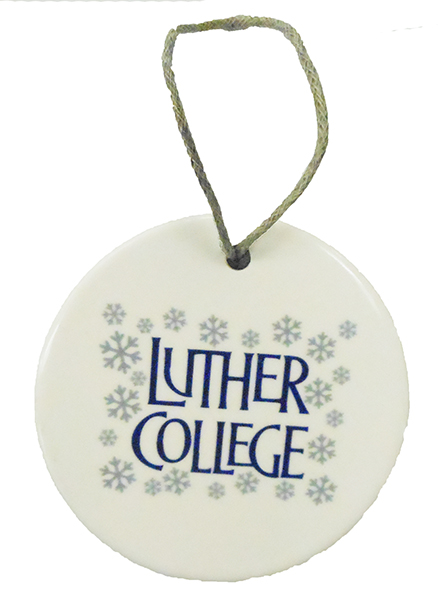 Snowflakes Stacked Luther College Ornament (SKU 1041357963)
