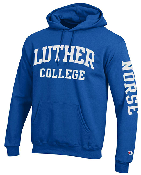 Luther College Hood Norse On Sleeve