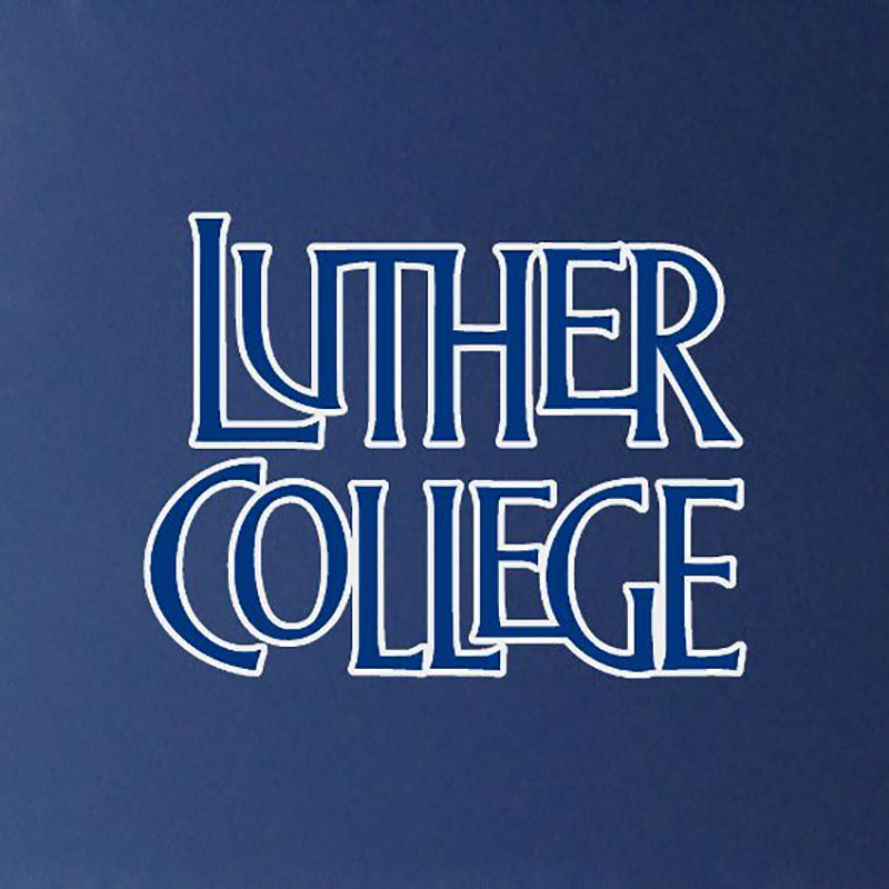 Luther College Stacked Decal (SKU 1041415625)