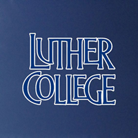 Luther College Stacked Decal