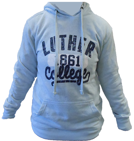 Hood Luther Over 1861 College Script