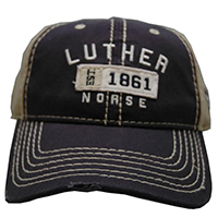 CAP LUTHER OVER 1861 NORSE