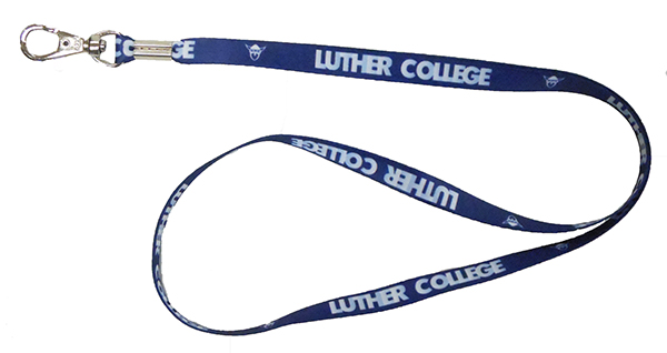 Luther College Norsehead Lanyard