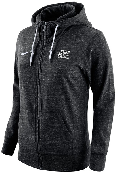 Full Zip Luther College Stacked Hood (SKU 1041911337)