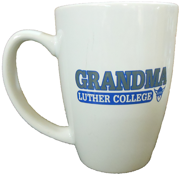 Grandma Over Luther College Mug